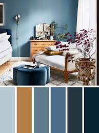 Blue And Brown Bedroom Color Inspired. Find Color Inspiration Ideas For  Your Home. Blue