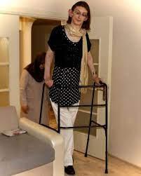 Dünyanın en uzun boylu kadını Rümeysa Gelgi, Guinness Rekorlar Kitabı'na  girdi