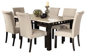 outstanding gateway 7 piece dining room set with parsons chairs white dining intended for white parsons chairs ordinary