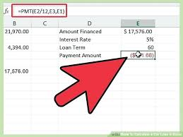 Interest Only Loan Calculation Image Titled Calculate A Car Loan In Excel Step 8 Interest