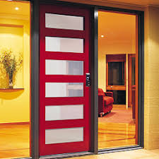 red door glass modern. contemporary front doors uber moder ultra chic you just know are walking red doorsglass door glass modern e