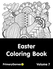 Bunny And Tulip Wreath Coloring Page Printable Easter Coloring