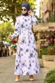 Neva Style Lila Hijab Dress 41491lila Neva Style Com