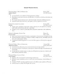 Resume Format Sample Curriculum Vitae Examples Great Resume Format ...