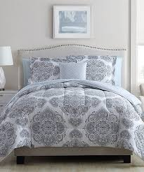 gray shalimar eight piece comforter set