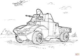 Small Picture Military Armored Car coloring page Free Printable Coloring Pages