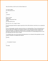 7 Job Offer Acceptance Letter Sephora Resume