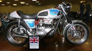 1973 triumph bonneville t140v caf racer classic motorcycle pictures