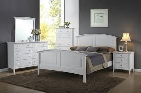 Carter Bedroom Collection - White - Crossroads — Fred's Furniture Co.