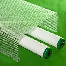 2 lite clear prismatic acrylic wrap lens with no endcaps