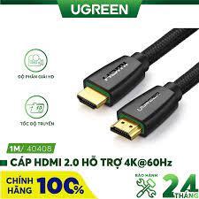 Cáp HDMI 2.0 hỗ trợ 3D 4K dài từ 1-15m UGREEN HD118 - Hãng phân phối chính  thức