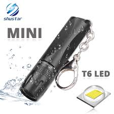 Mini Đèn Pin Led Siêu Sáng Sử Dụng T6 Đèn Đính Hạt Đèn LED Chống Nước Đèn  Pin Sử Dụng Nguồn Pin AA Thích Hợp Cho Việc Sử Dụng Ngoài Trời