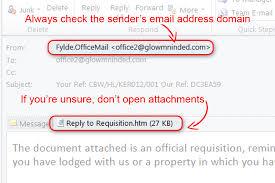 Withdrawn Beware Of Phishing Emails Gov Uk