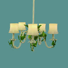 ch 206 five arm leaf chandelier