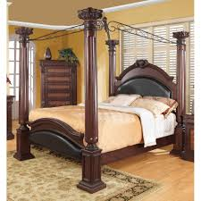 Shop Coaster Company Cherry Four Post Bed - On Sale - Free Shipping ...