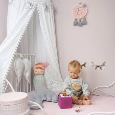 US $40.24 20% OFF|Hairball DIY Princess Canopy Bed Curtains Hanging Dome Tent White/Grey/Pink Children Room Decoration-in Toy Tents from Toys & ...
