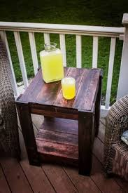 Pallet Furniture Garden Table  Outdoor Furniture Made With Pallet Furniture For Outdoors