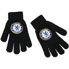 Download our app, the 5th stand! Chelsea Fc Official Products Knitted Gloves Junior Amazon Co Uk Clothing