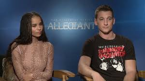 zo euml kravitz miles teller interview the divergent series zoeuml kravitz miles teller interview the divergent series allegiant hd