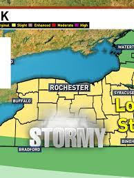 Severe thunderstorm watch in WNY