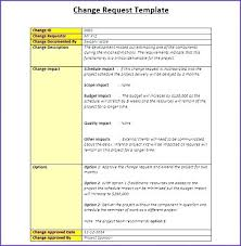 Address Change Form Template Cool Project Request Form Template Excel Change Management I On Templates