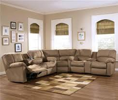 Brown Leather Sectional Sofa Ashley Furniture L Couch Covers