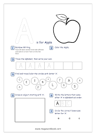 Daily Behavior Chart Preschool Letter Recognition