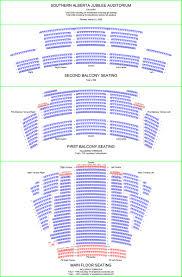 Jubilee Calgary Seating Chart Southern Alberta Jubilee Auditorium Flor Plans Calgary Canada