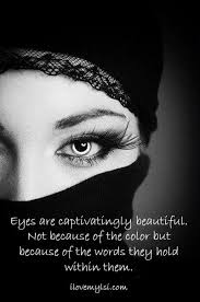 Quotes On My Beautiful Eyes
