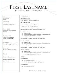 Resume Formats In Ms Word Resume In Word Format Ms Word Format