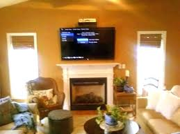 above fireplace wires mounting flat screen hiding a hide over tv cords on brick