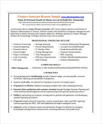 17+ Finance Resume Templates - Pdf, Doc | Free & Premium Templates