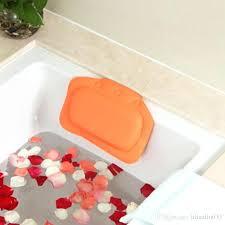 bathtub pillow bathtub waterproof spa soft bath pillow headrest with suction cup tub pillow bathroom s bathtub pillow
