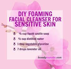 foaming cleanser sensitive skin