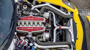 This powerplant features double overhead camshaft valve gear, a 65 degree v 12 cylinder layout, and 4 valves per cylinder. Topgear Holy Smoke It S A 917bhp Ferrari Drift Car