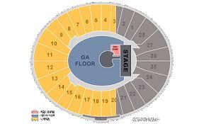 The Rose Seating Chart Pasadena Tickets 1 2 U2 Joshua Tree Tour Vip Tickets Red Zone Rose