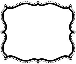 fancy frame border transparent. Black Scroll Frame Clip Art Fancy Border Transparent