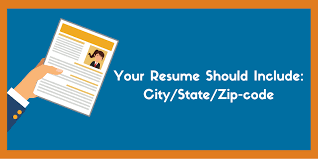 What Should Not Be Included In A Resume Should You Include Your Full Address On A Resume Updated 2019