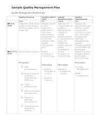 Quality Control Process Template Procedure