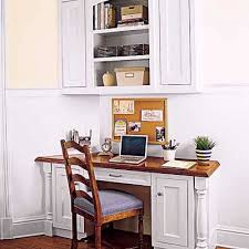 office in kitchen. inspired by kitchen offices this old house (thanks for great pics!) and others \u2013 here, here. office in