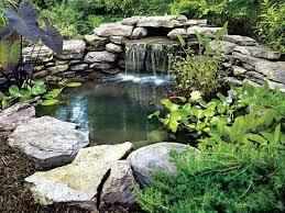 garden pond ideas. Beautiful Garden DIY Backyard Pond On Garden Ideas