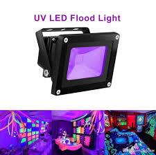 10w outdoor uv black light ip65 waterproof cob uv flood lights for paint fluorescent poster glow in the dark party outdoor flood lights led floodlights