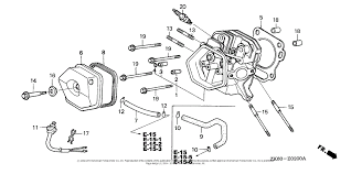 honda engines gx390k1 vxg engine jpn vin gcaa 3400001 to gcaa zoom