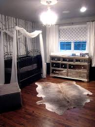 architecture animal hide rugs in the nursery inside prepare 9 antique chandeliers for sliding barn