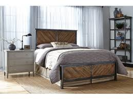 Fashion Bed Group Bedroom Braden Complete Metal Bed and Steel ...