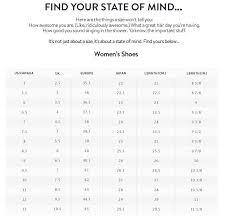 Size Chart Zumbashop Australia