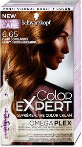 Color Expert Barva Na Vlasy Zlatě čokoládový 665 1468 Ml