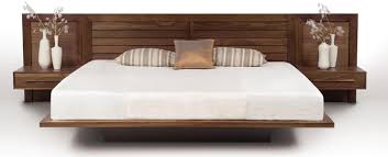 platform bed with nightstand. Platform Bed With Nightstand Attached Photo - 1