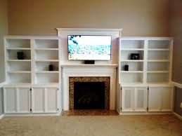 In Wall Entertainment Cabinet Hand Crafted Built In Entertainment Center By Carolina Woodworking