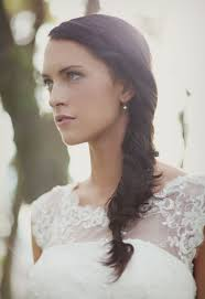wedding hairstyles with braids for long hair twisted fishtail braid
